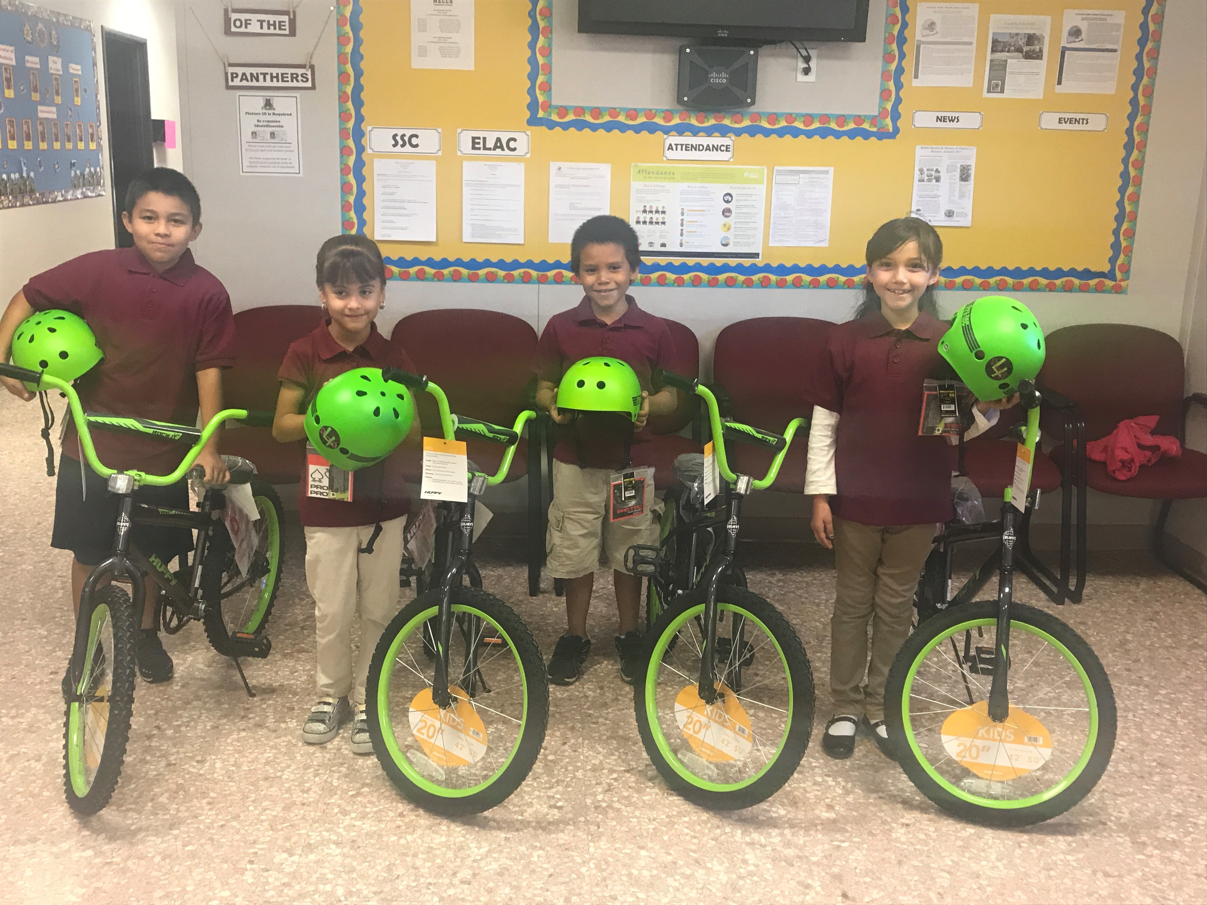 Bike Raffle - Perfect Attendance